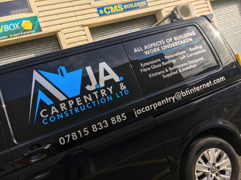 Yellow Box Solutions - Vehicle Graphics - Yeovil, Somerset